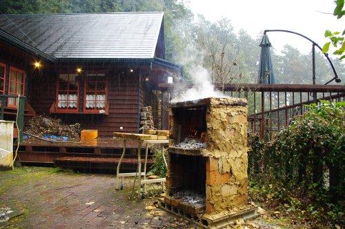 山のコバコと石窯