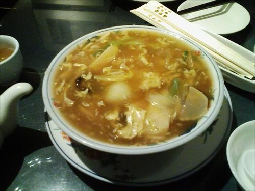 福新楼のダールー麺は絶品