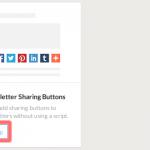 Google siteにシェアボタンを設置する方法