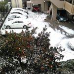 大雪警報、暴風雪警報が出る福岡市