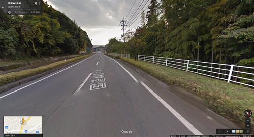 2013年11月時点の国道443号