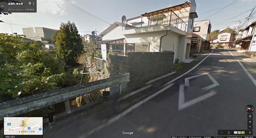 2013年11月時点 益城町寺迫地区の家屋A