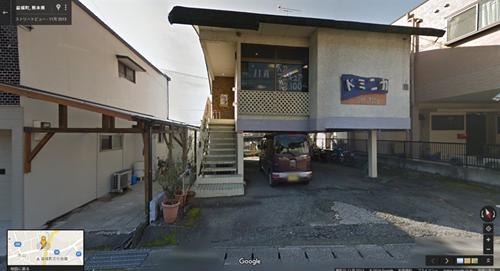 2013年11月時点 益城町寺迫地区の理髪店