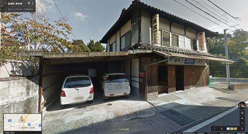 2013年11月時点 益城町寺迫地区の酒店