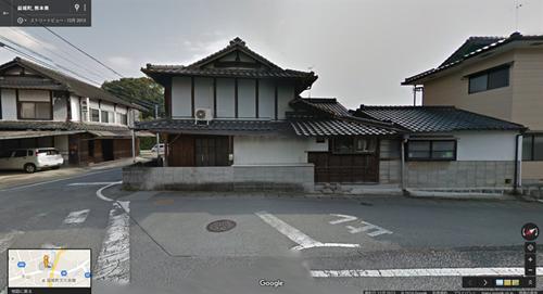 2013年12月時点 益城町寺迫地区の家屋B